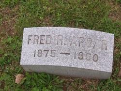 Fred R Apgar