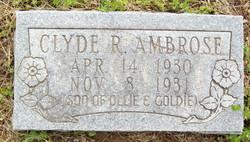 Clyde R. Ambrose