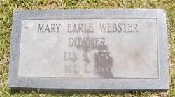 Mary Earl <i>Webster</i> Downer