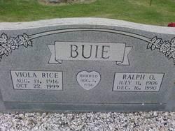 Viola <i>Rice</i> Buie