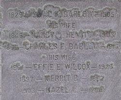Nancy Amelia <i>Hemitt</i> Barlow