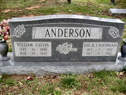 William Calvin Anderson