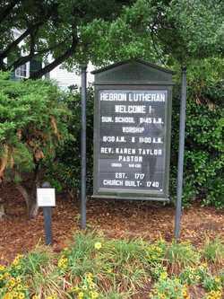 Hebron Lutheran Church Cemetery