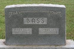Mary Ella Bass
