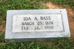 Ida A. Bass