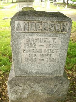 Pvt Samuel T Anderson