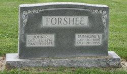 Emmaline F <i>Stanley</i> Forshee