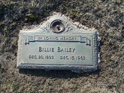 Billie Bailey