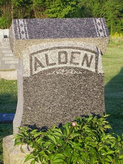 Eliza Ann <i>Foltz</i> Alden