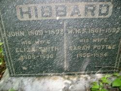 Eliza <i>Smith</i> Hibbard
