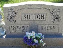 Lois Onetta <i>Machen</i> Sutton