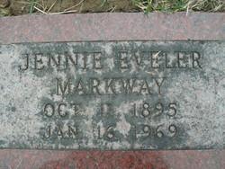 Genevieve Jennie <i>Eveler</i> Markway