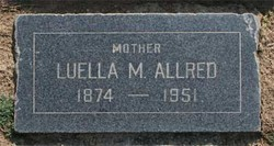 Luella May <i>Angell</i> Allred