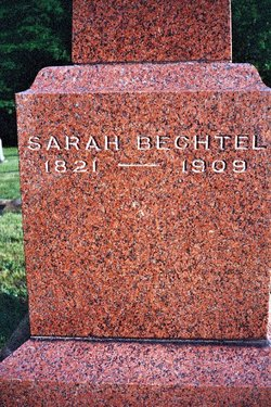 Sarah <i>Neterer</i> Bechtel