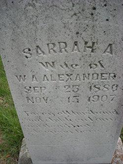Sarrah Alice <i>Henderson</i> Alexander