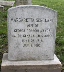 Margaretta <i>Sergeant</i> Meade