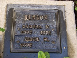 Samuel W Benson