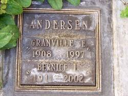 Granville E Andersen