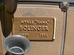 Myrle Bolinger
