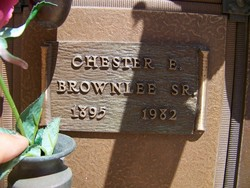 Chester E Brownlee, Sr