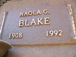 Naola G Blake
