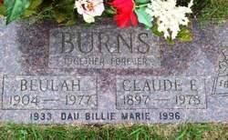 Beulah <i>Cox</i> Burns