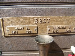 Mary E Best