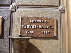 Lorene E <i>Kellett</i> Barker