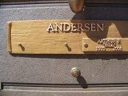 Arthur F Andersen