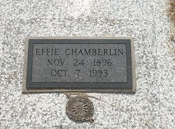 Effie Cordelia <i>Barlow</i> Chamberlin