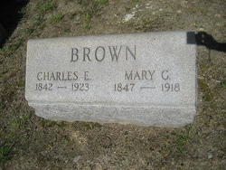 Mary Frances <i>Gouldman</i> Brown