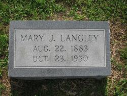 Mary J. <i>Borders</i> Langley