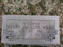 Henry Jackson Wills