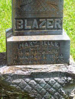 Mary Belle <i>Williams</i> Blazer