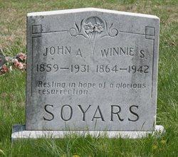Winnie Samatha Robbins <i>Thomas</i> Soyars