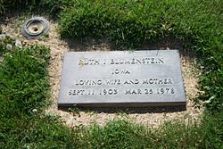Ruth I. Blumenstein