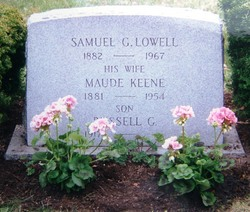 Maude Mabel <i>Keene</i> Lowell
