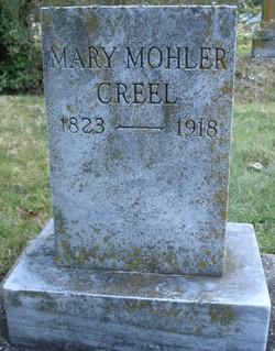 Mary Jane <i>Mohler</i> Creel