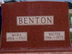 Myra <i>Bonds</i> Benton