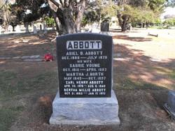 Sabrie <i>Young</i> Abbott
