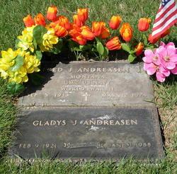 Gladys Juanita <i>Troutman</i> Andreasen