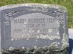 Mabel <i>Burdett</i> Teed