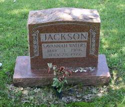 Savannah <i>Waters</i> Jackson