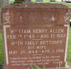 Ruth Emily <i>Bottorff</i> Allen