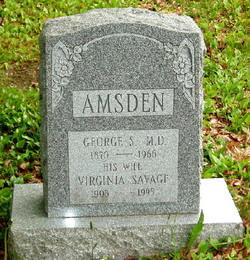 Dr George Samuel Amsden
