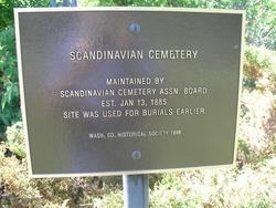 Scandinavian Cemetery
