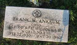Frank W Ankrum