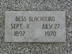 Bessie J. <i>Templin</i> Blackburn