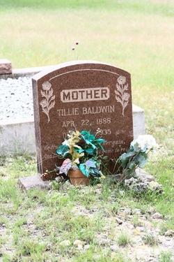 Tillie Sara <i>Sublett</i> Baldwin