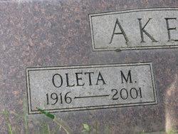 Mary Oleta <i>Neill</i> Akers